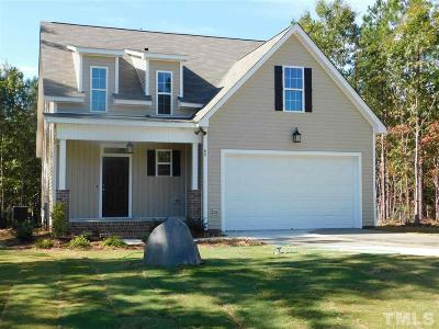 Zebulon Single Family Home For Sale: 65 Yancey Road