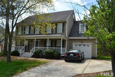 Raleigh Single Family Home For Sale: 8613 Hobhouse Circle