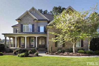 Wake Forest Single Family Home Contingent: 1240 Heritage Heights Lane