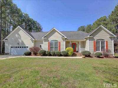 Granville County Single Family Home Contingent: 4112 Tall Pine Drive