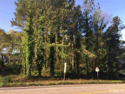 Raleigh Residential Lots & Land Contingent: 3319 Lake Boone Trail