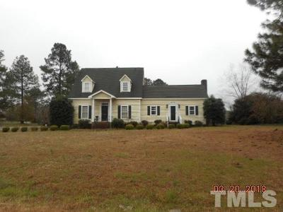 Benson Single Family Home For Sale: 1171 Tarheel Road