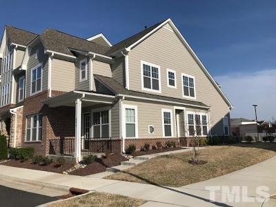 Cary Townhouse For Sale: 604 Balsam Fir Drive