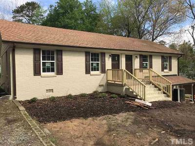 Chapel Hill Multi Family Home Pending: 103 Isley Street