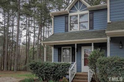Wake Forest Townhouse For Sale: 1301 Wall Road