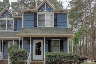 Wake Forest Townhouse For Sale: 1303 Wall Road