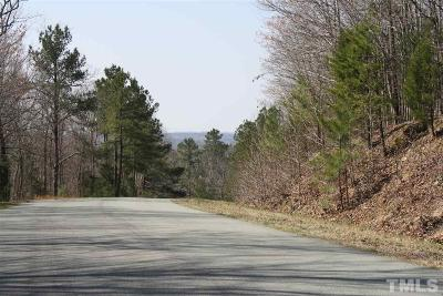 Pittsboro Residential Lots & Land For Sale: Lot 1 Uwharrie Ridge Road