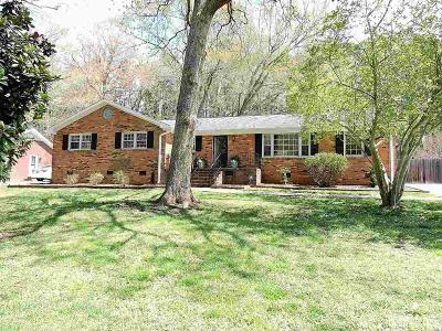 Durham Single Family Home Pending: 4620 Reigal Wood Drive