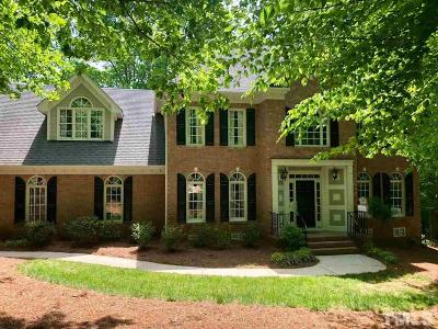 Raleigh Single Family Home For Sale: 7113 Millstone Ridge Court
