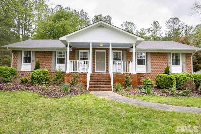 Chatham County Single Family Home Pending: 1221 Hillsboro Street