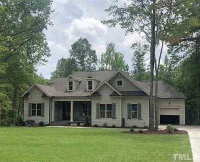 Chatham County Single Family Home For Sale: 194 Starwood Drive