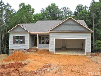 Clayton Single Family Home For Sale: 192 Brindley Circle