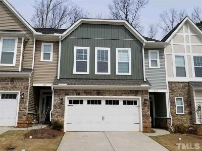 Cary Townhouse For Sale: 109 Wards Ridge Drive