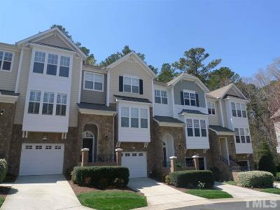 Raleigh Townhouse For Sale: 5125 Lady Of The Lake Drive