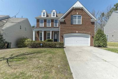 Morrisville Single Family Home Contingent: 912 Delaronde Lane