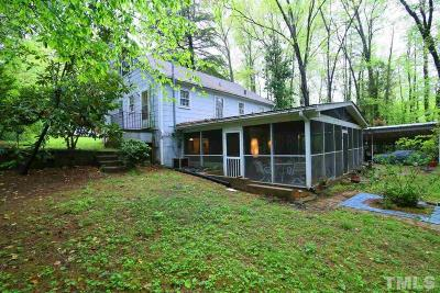 Chapel Hill Single Family Home For Sale: 1218 Hillview Road