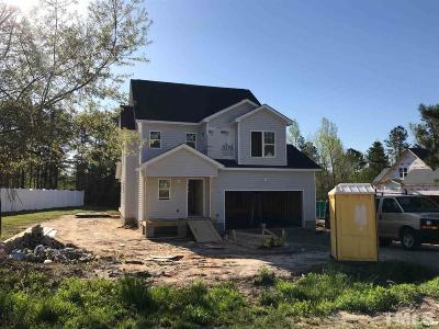Fuquay Varina Single Family Home Contingent: 450 Cokesbury Park Lane