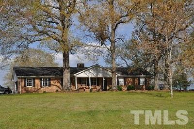 Chatham County Single Family Home For Sale: 5794 Siler City Snow Camp Road