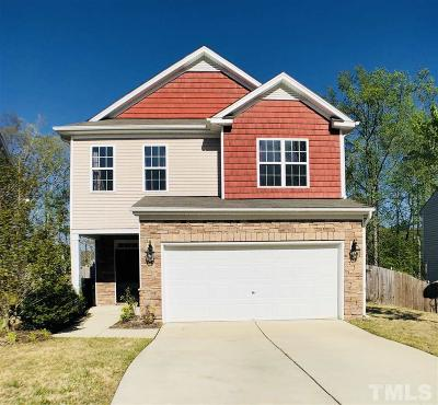 Raleigh Single Family Home Pending: 3713 Morman Springs Lane