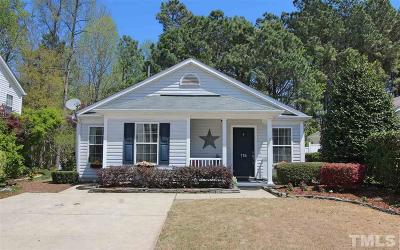 Apex Single Family Home Pending: 115 Evening Star Drive