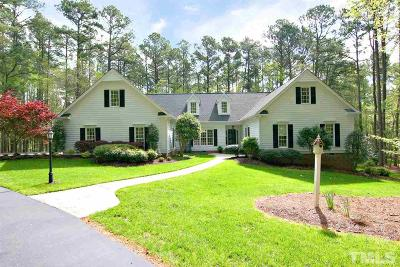 Wake County Single Family Home For Sale: 10725 Beaver Pond Lane