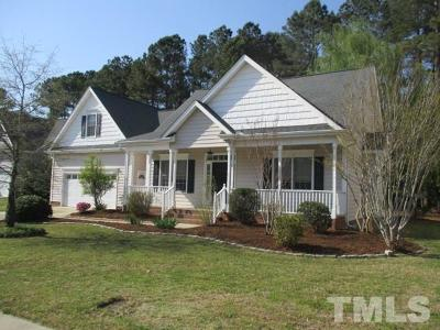 Fuquay Varina Single Family Home For Sale: 1003 Sethcreek Drive