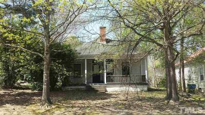 Raleigh Single Family Home For Sale: 601 Elm Street