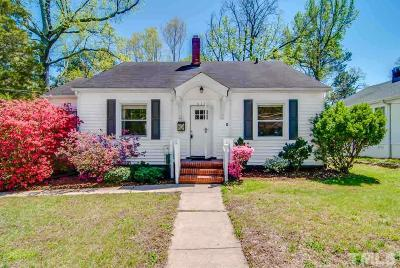 Durham Single Family Home For Sale: 616 Bon Air Avenue