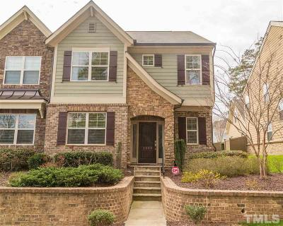 Raleigh Townhouse For Sale: 2309 Lowden Street