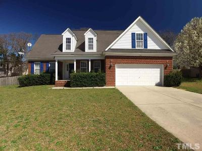 Harnett County Single Family Home For Sale: 100 Union Circle