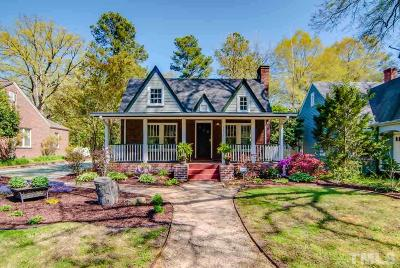 Durham Single Family Home For Sale: 2611 Chapel Hill Road