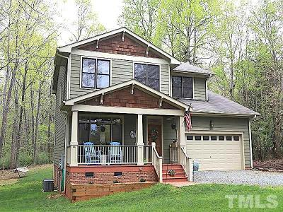 Pittsboro Single Family Home Contingent: 209 Hamlet Grove Drive