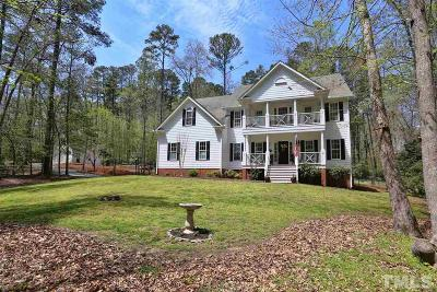 Pittsboro NC Single Family Home For Sale: $656,500