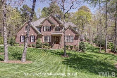 Raleigh Single Family Home For Sale: 1120 Tacketts Pond Drive