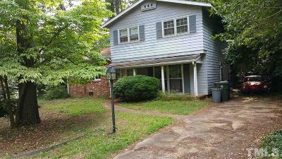 Raleigh Single Family Home Contingent: 504 Old Farm Road