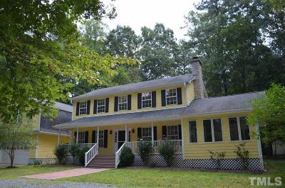 Pittsboro NC Single Family Home For Sale: $515,000