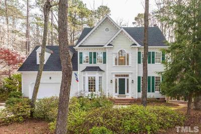 Raleigh Single Family Home For Sale: 4105 Ridgebluffs Court