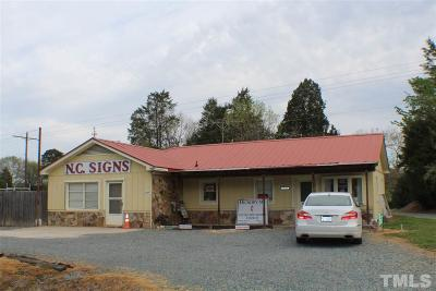 Chatham County Commercial For Sale: 11330 W Us 64 Highway West