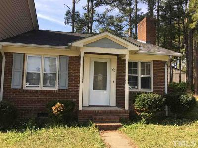 Johnston County Rental For Rent: 65 S Sussex Drive