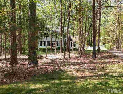 Chapel Hill Single Family Home For Sale: 18 Wedgewood Court