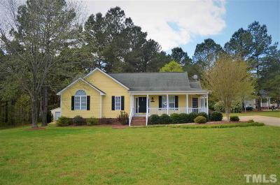 Johnston County Single Family Home For Sale: 100 Yorkbury Drive