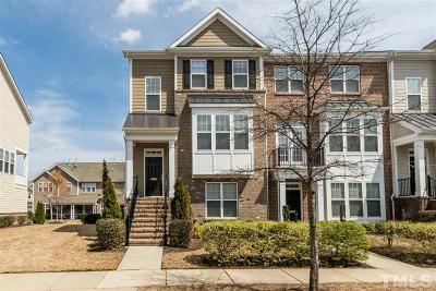 Raleigh Townhouse For Sale: 9126 Falkwood Road