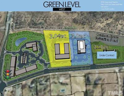 Wake County Commercial Lots & Land For Sale: Green Level West Road