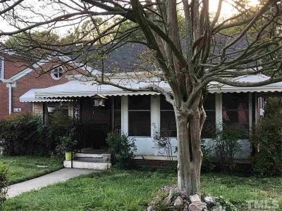 Raleigh Single Family Home For Sale: 1308 S Bloodworth Street