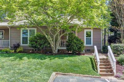 Cary Townhouse Contingent: 102 Applecross Drive