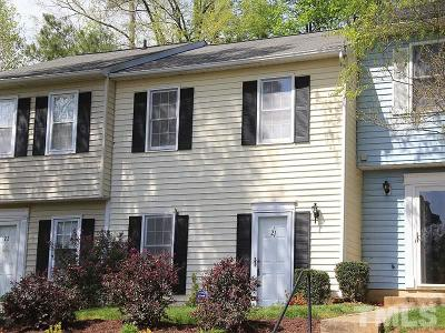 Durham Townhouse For Sale: 21 Georgetown Court