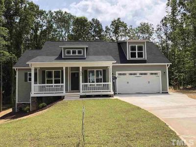 Johnston County Single Family Home For Sale: 528 Cotton Mill Drive