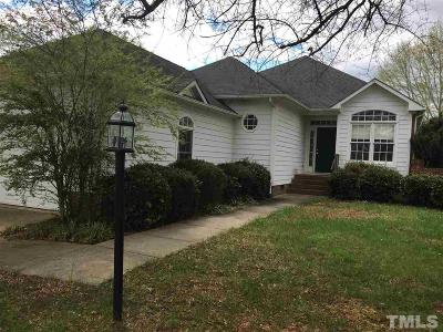 Chapel Hill Single Family Home For Sale: 108 S Fields Circle