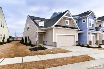 Apex Townhouse Pending: 573 Chessie Station #208