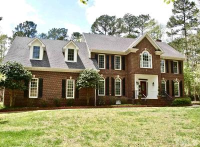 Wake Forest Single Family Home For Sale: 2500 Canonbie Lane
